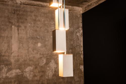Betonlampe, Beton-Pendelleuchte MARTHA aus der Heine & Becker Manufaktur