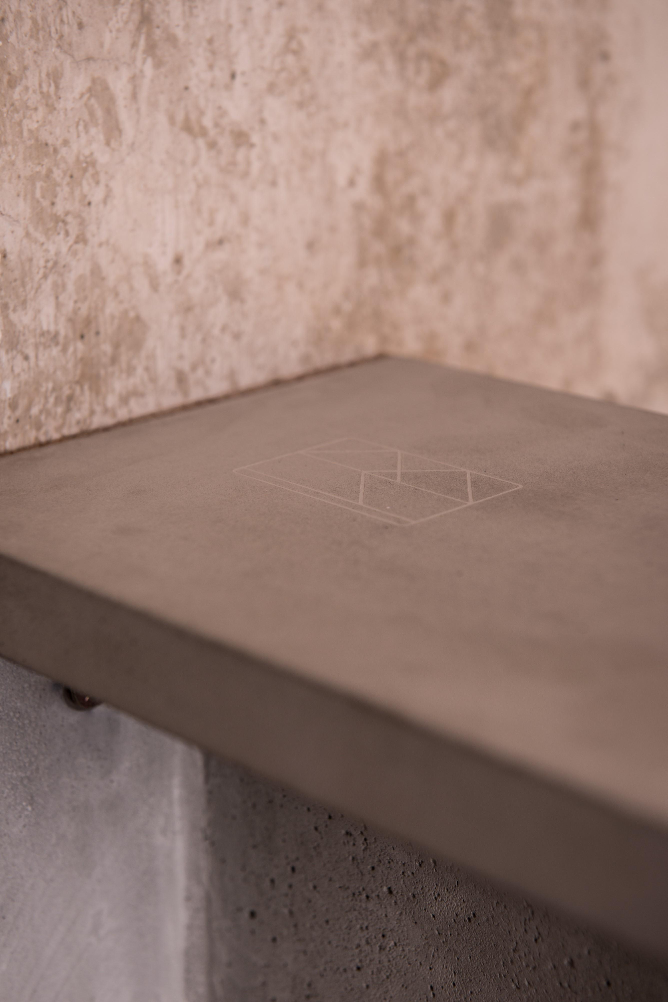 Beton-Fahrradhalterung BRUNO aus der Heine & Becker Manufaktur