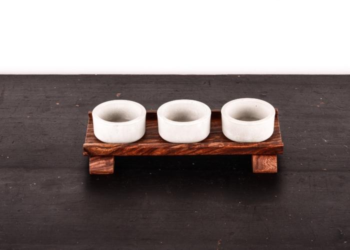 Teelichthalter JUNO HEINE & BECKER Manufaktur